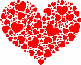 Big heart shape
