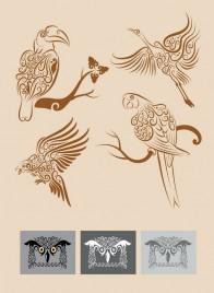 Bird Ornament Symbols