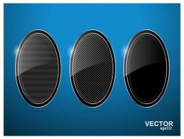 black oval template