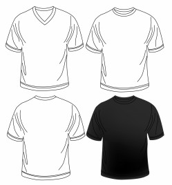 ccbfe503160 Men polo shirt template vectors stock for free download about (3 ...