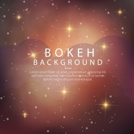 bokeh background sparkling brown design