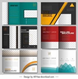 brochure templates modern elegant decor