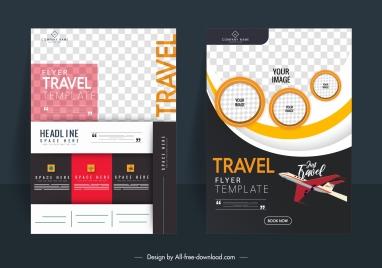 business brochure background templates contrast design modern checkered