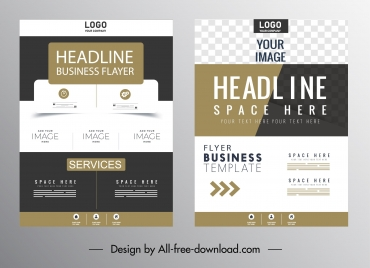 business brochure cover templates elegant contemporary design