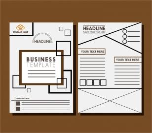 business brochure templates layout design