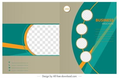 business brochure templates modern flat design