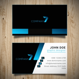 Free business card templates ai vectors stock for free download business card design cheaphphosting Image collections