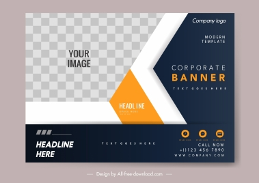business card template elegant modern design checkered decor