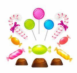 candy sweet set