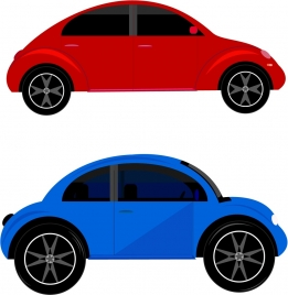 car models collection in classical style