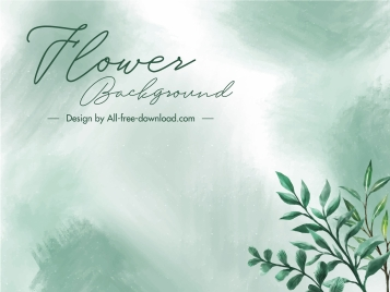 card background nature leaves decor elegant classic