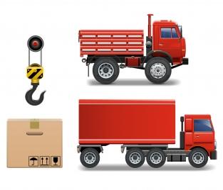 cargo transport vehicle truck equipment