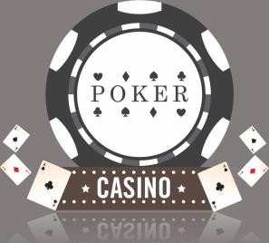 casino background shiny 3d design grey round decoration