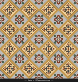 ceramic tile pattern template colorful classic repeating symmetry