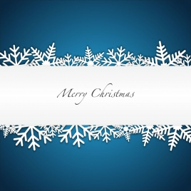 christmas background with snowflakes and space for text