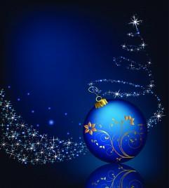 Christmas Ball and floral