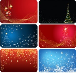 Christmas cards six version