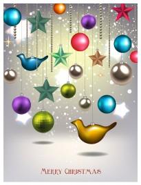christmas decor element background