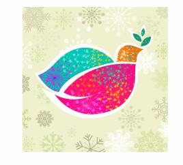 Christmas dove of peace