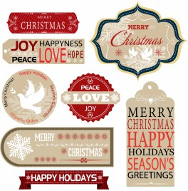 Christmas Labels and Gift Tags