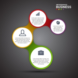 Infographic diagram vectors stock for free download about 160 circles vector illustration of business infographic diagram ccuart Choice Image
