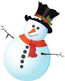 Classic snowman