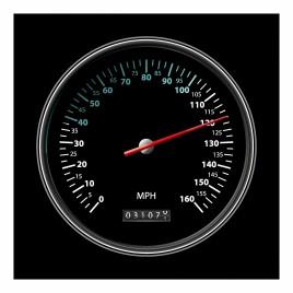 Classic Sport Speedometer