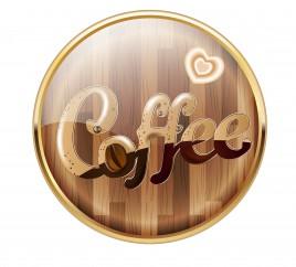 coffee app icons badge
