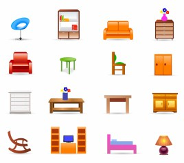 Color Icons - Furniture