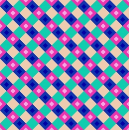colorful checkered background repeating squares decoration