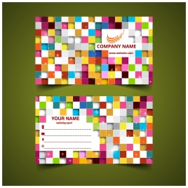 Business card templates vectors stock for free download about 180 colorful square abstract business card templates reheart Gallery