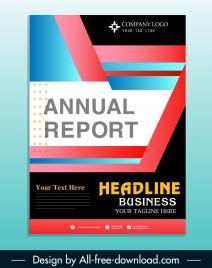 corporate brochure cover template colorful modern decor