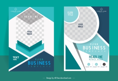 corporate brochure cover templates elegant technology design