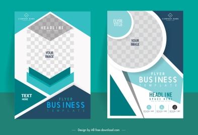corporate brochure cover templates elegant technology design
