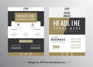 corporate brochure cover templates modern colored design