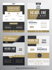 corporate flyer templates elegant contemporary decor