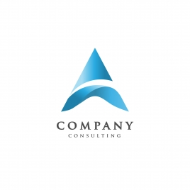 creative letter a logo