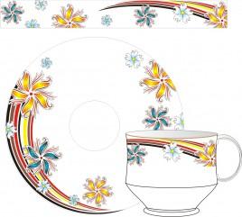 Cup Saucer 11