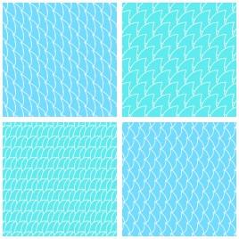 curve grid pattern
