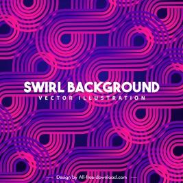 decorative background dark pink violet bending swirled shapes
