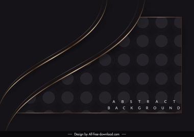 decorative background elegant luxury dark curves decor