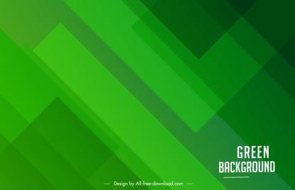 decorative background template modern flat green monochrome