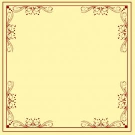 decorative border template classical symmetric repeating design