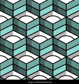 decorative pattern 3d symmetric geometric decor