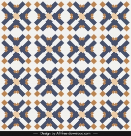 decorative pattern colored flat repeating symmetrical geometrical illusion