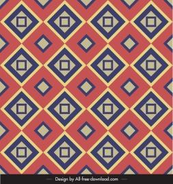 decorative pattern flat colorful geometric symmetric repeating design