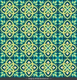 decorative pattern modern repeating symmetrical design