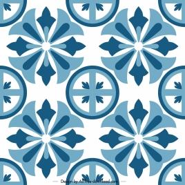 decorative pattern template classical symmetrical flat decor