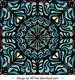 decorative pattern template delusive classical symmetric design