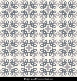 decorative pattern template flat classical repeating symmetric design